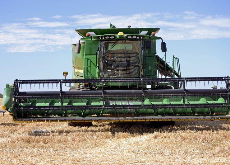 BPI Wheat Harvesting