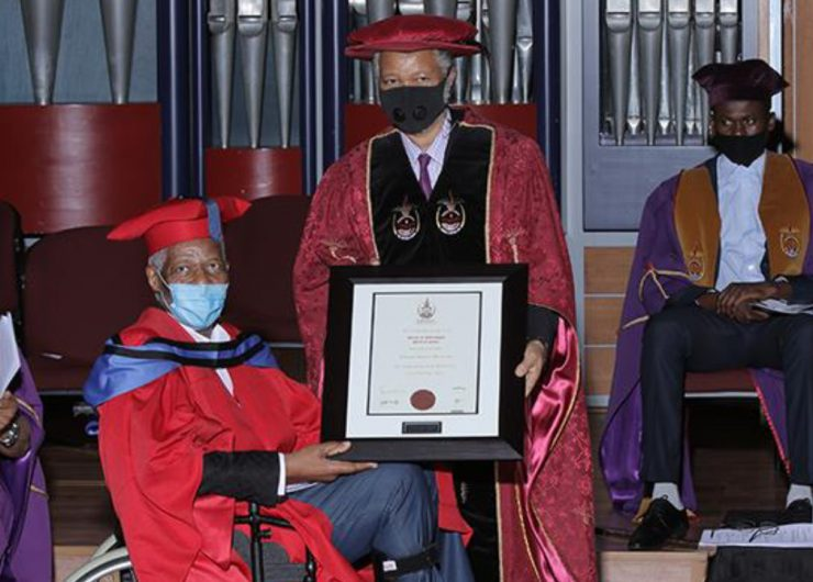 'Mr Fix It' receives honorary doctorate from Unisa